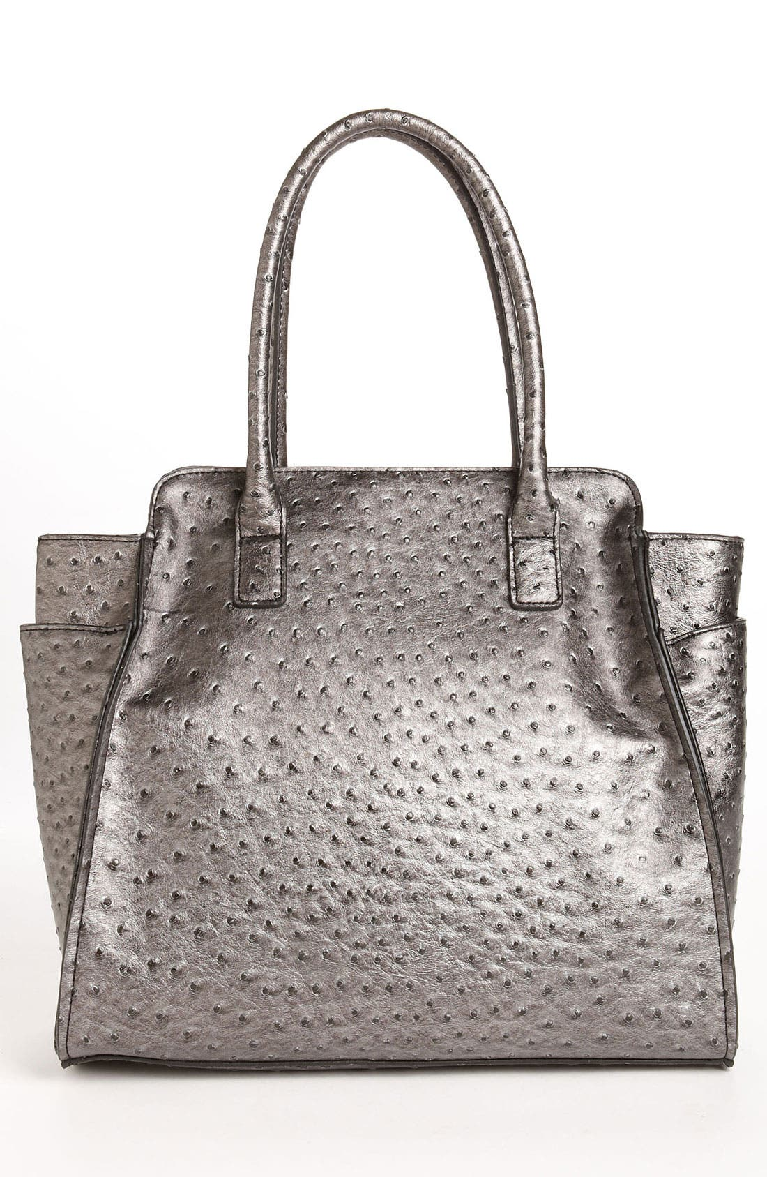 Alternate Image 4  - London Fog Ostrich Embossed Tote