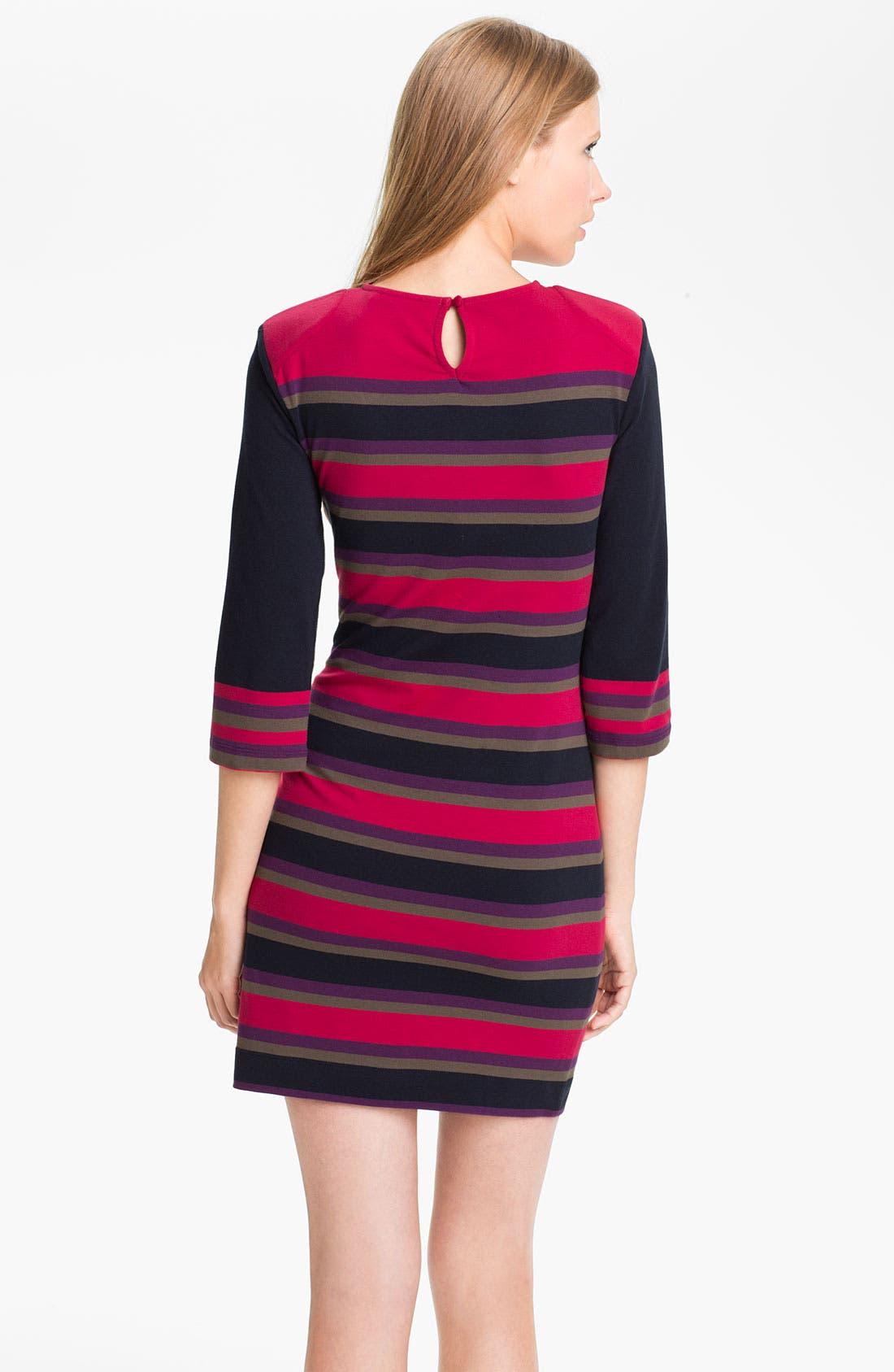 Alternate Image 2  - French Connection 'Koni' Stripe Knit Sheath Dress
