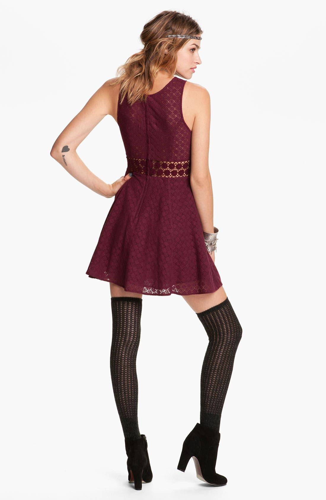Alternate Image 2  - Free People Crochet Daisy Dress