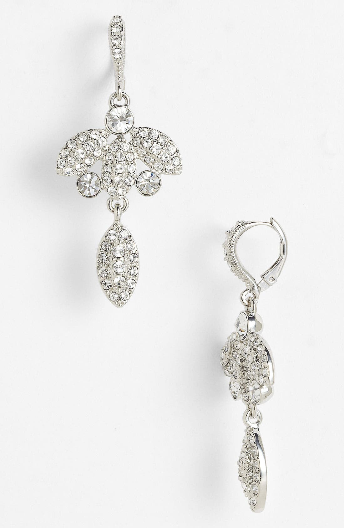 Main Image - Givenchy 'Femme - Kelly' Crystal Drop Earrings