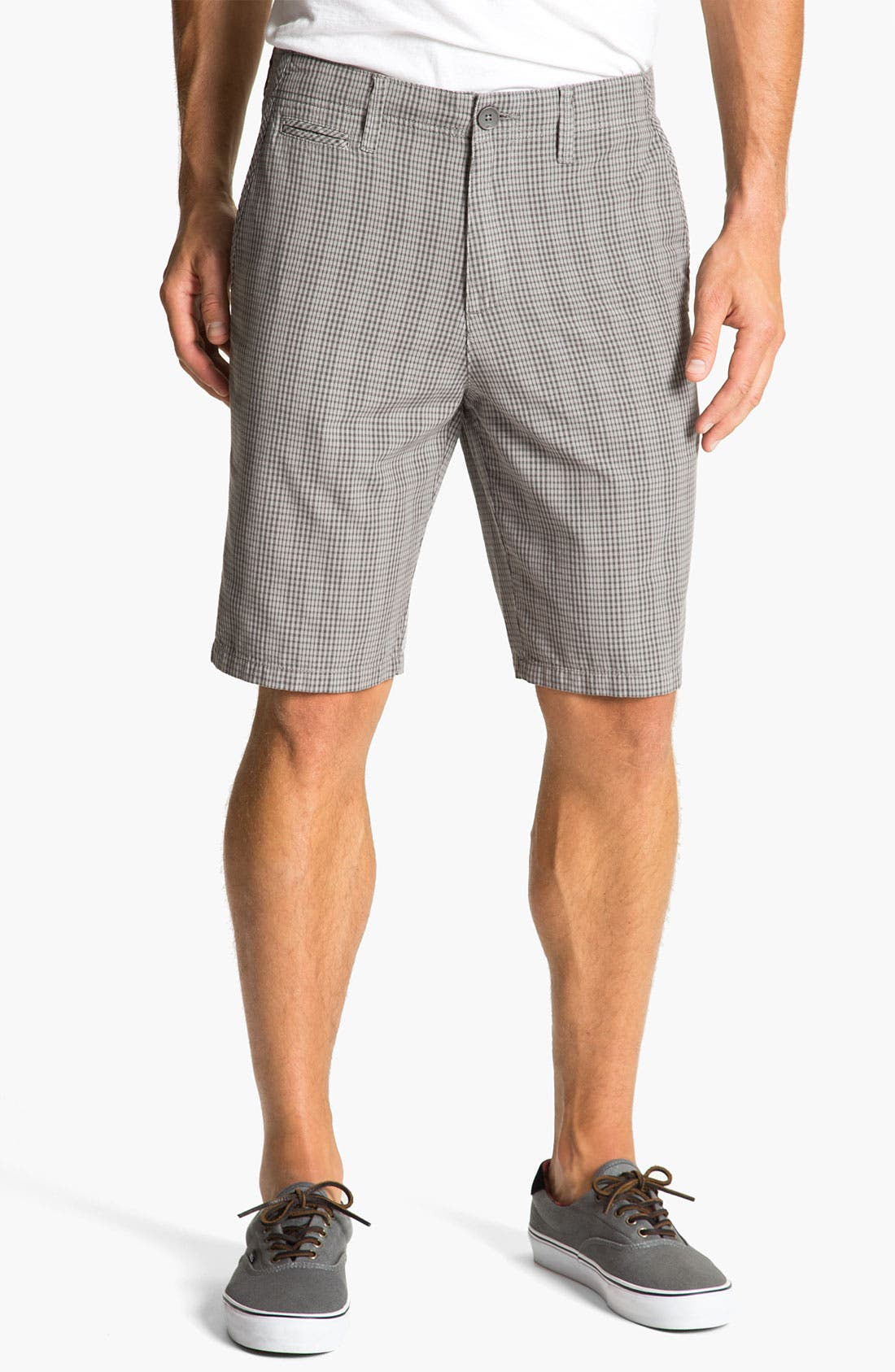 Alternate Image 1 Selected - Quiksilver 'Topanga' Check Shorts