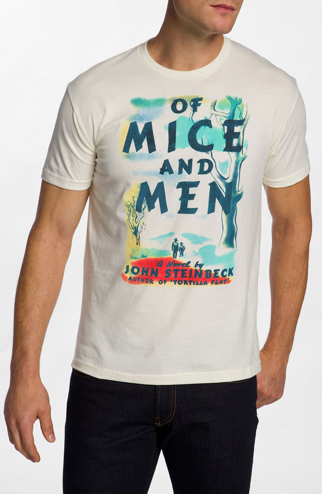 Alternate Image 1 Selected - Out of Print 'Of Mice and Men' Graphic T-Shirt