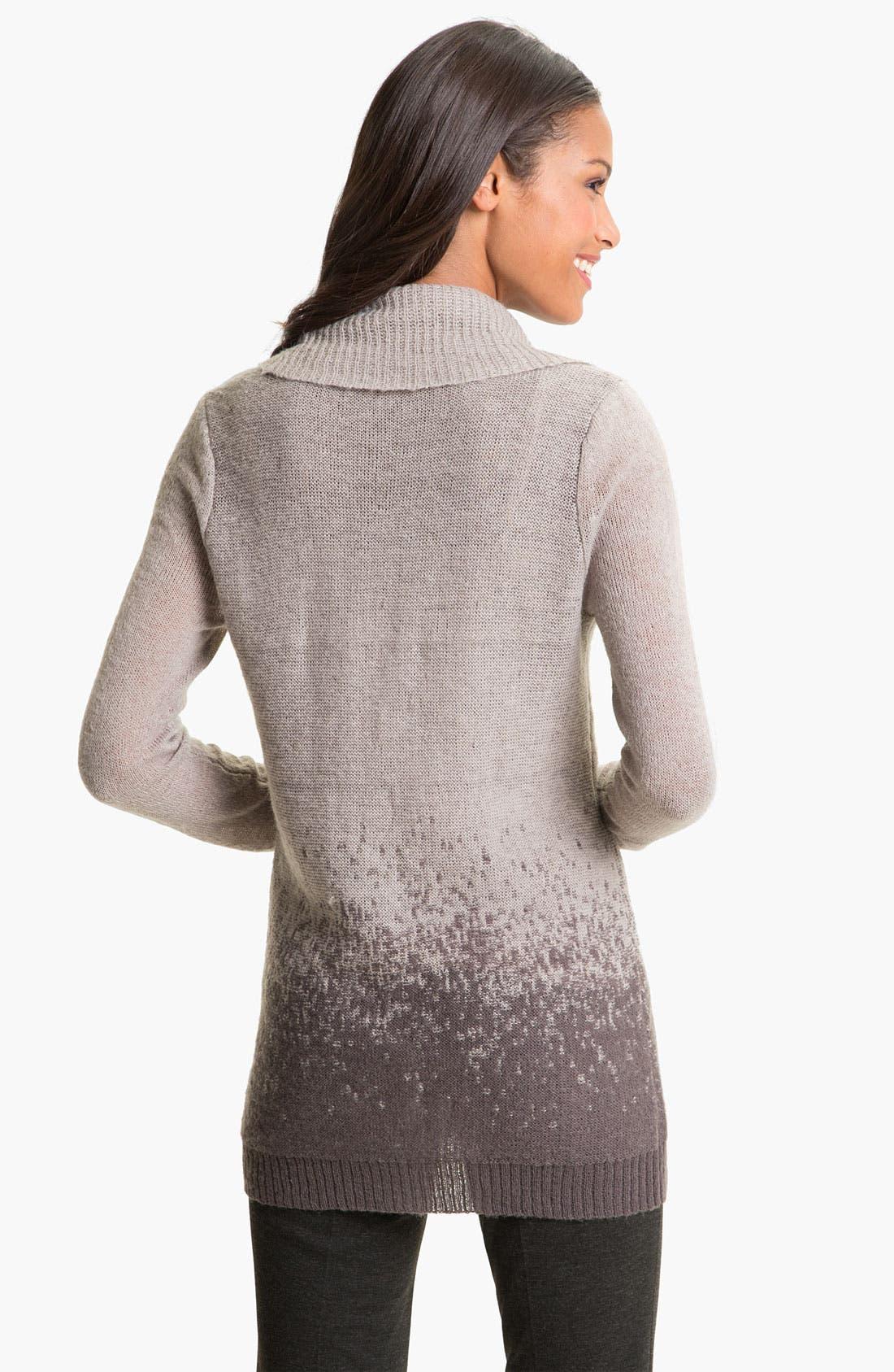Alternate Image 2  - Halogen® Ombré Cowl Neck Sweater