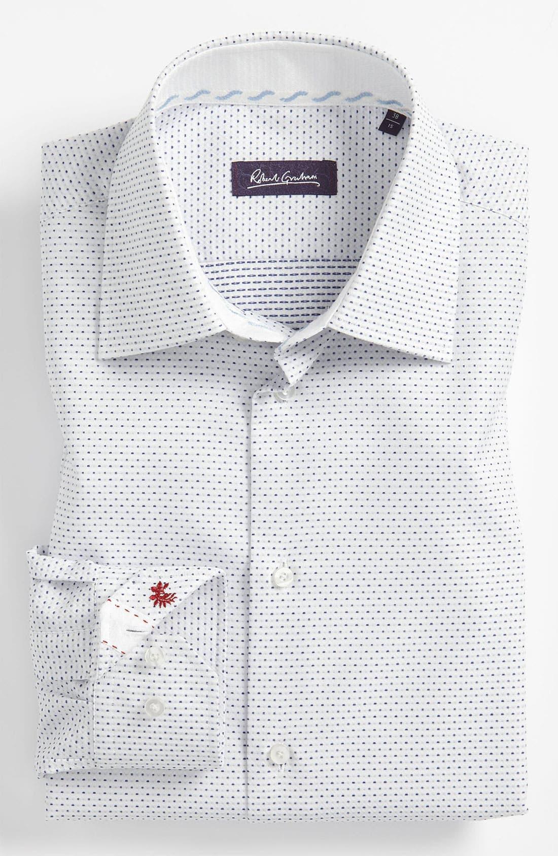 Alternate Image 1 Selected - Robert Graham Trim Fit Dress Shirt