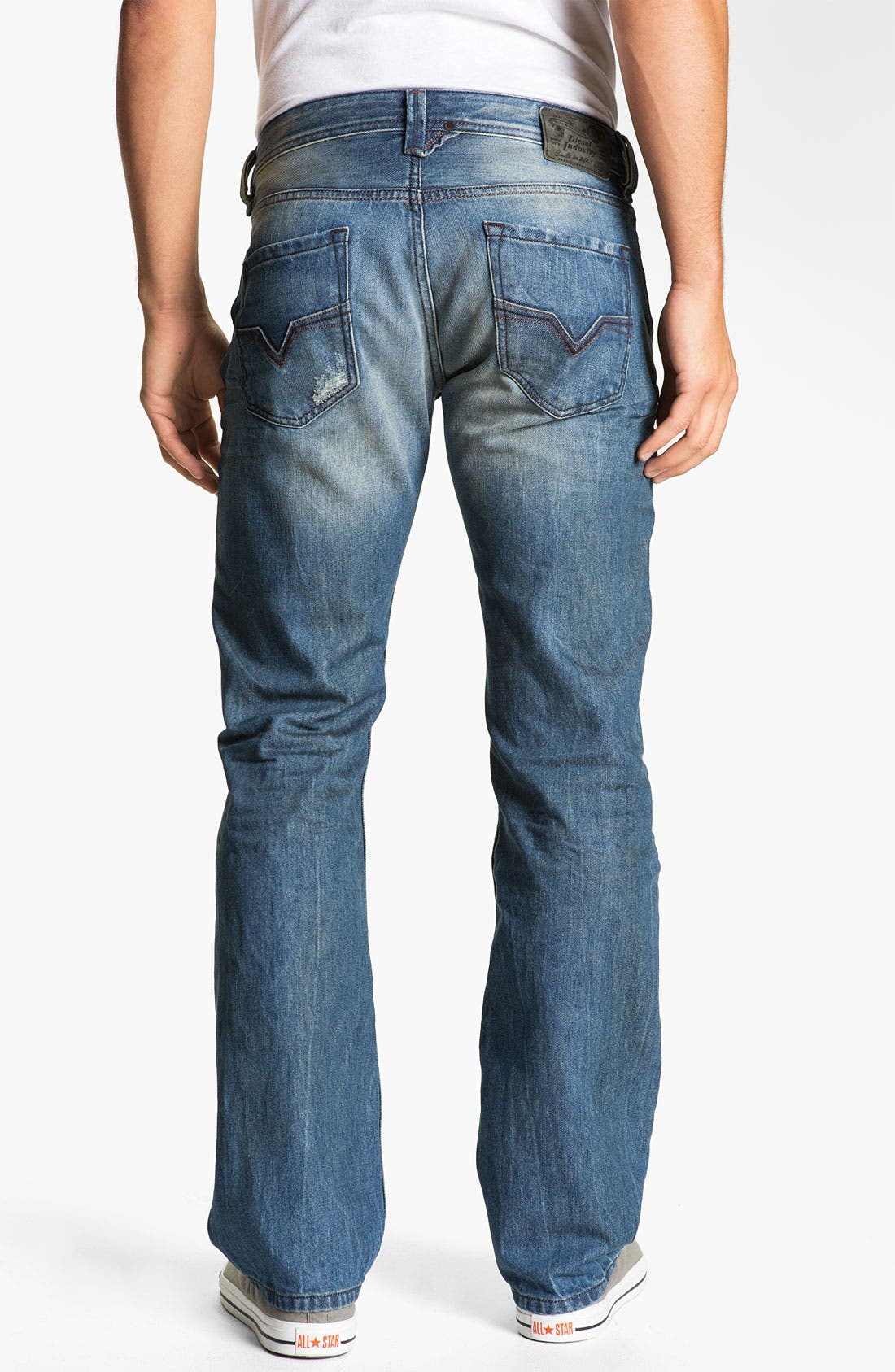 Alternate Image 2  - DIESEL® 'Larkee' Straight Leg Jeans (0075I)