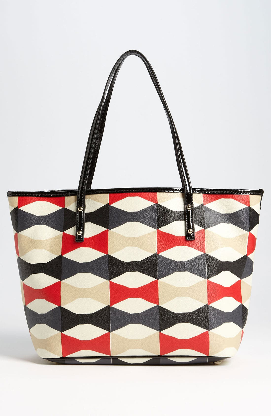 Alternate Image 4  - kate spade new york 'abstract signature bow harmony - small' tote