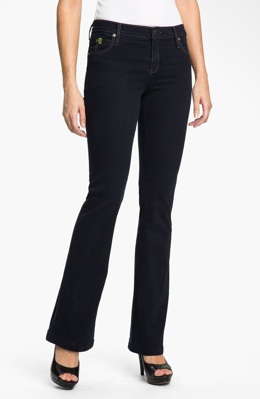 Alternate Image 1 Selected - Yoga Jeans by Second Denim Bootcut Jeans