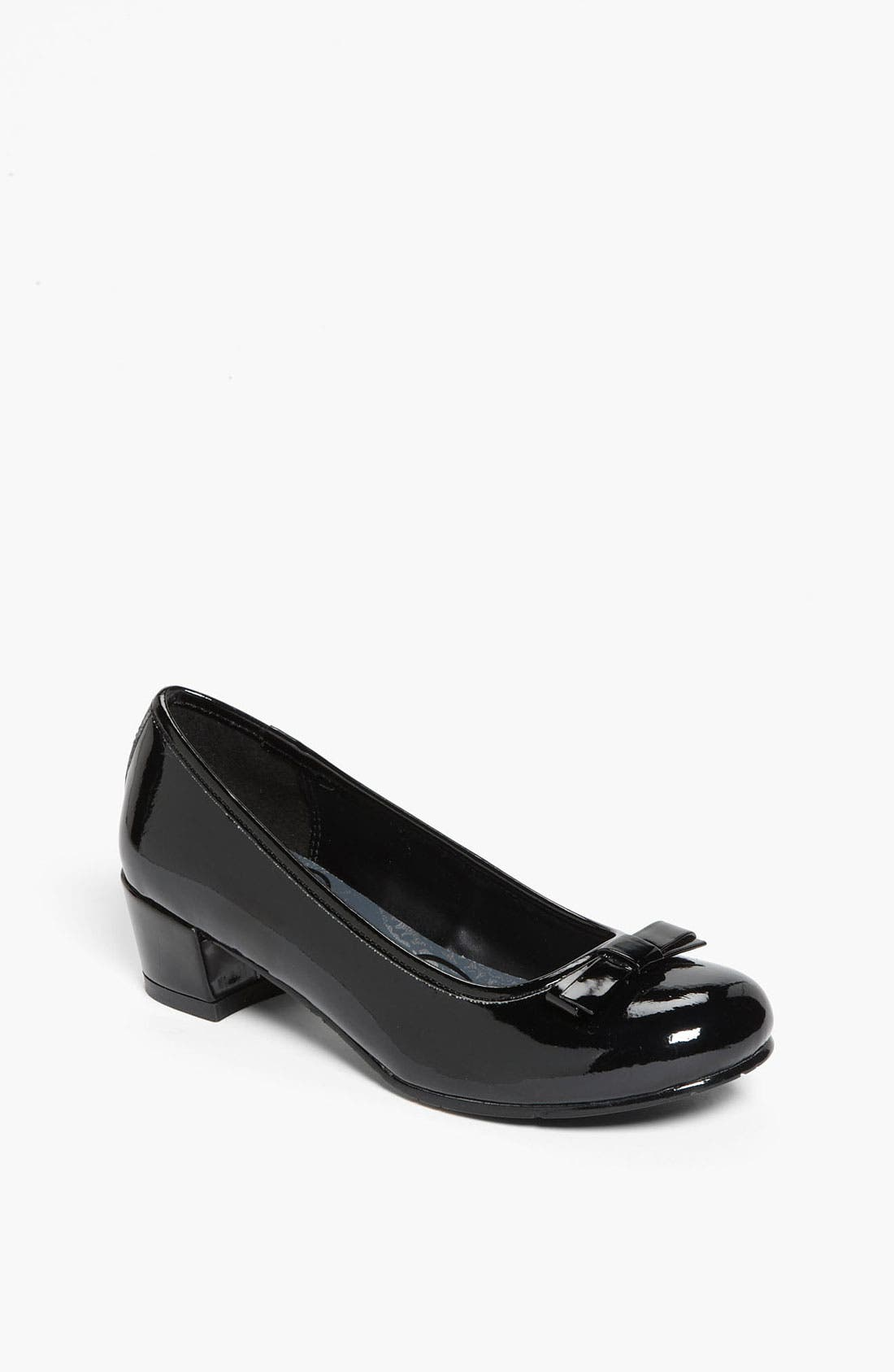 Alternate Image 1 Selected - Jessica Simpson Patent Pump (Little Kid & Big Kid)