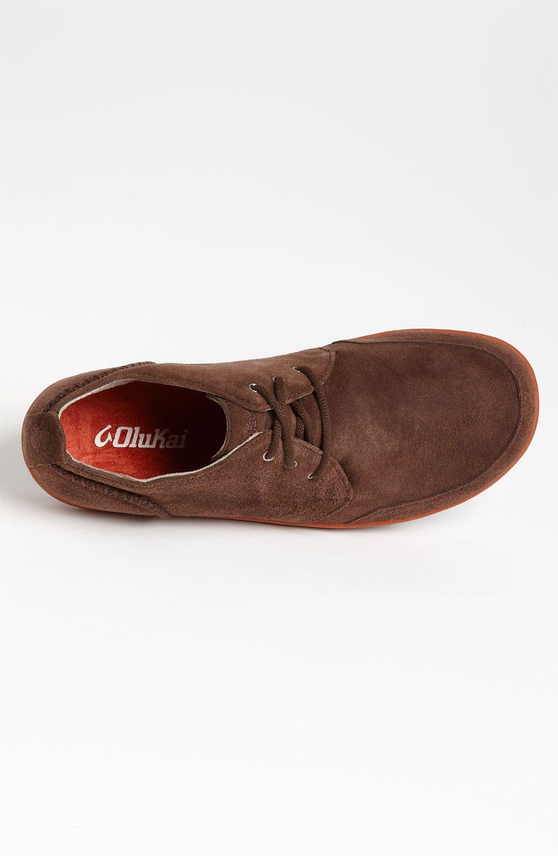Alternate Image 3  - OluKai 'Maki' Suede Sneaker