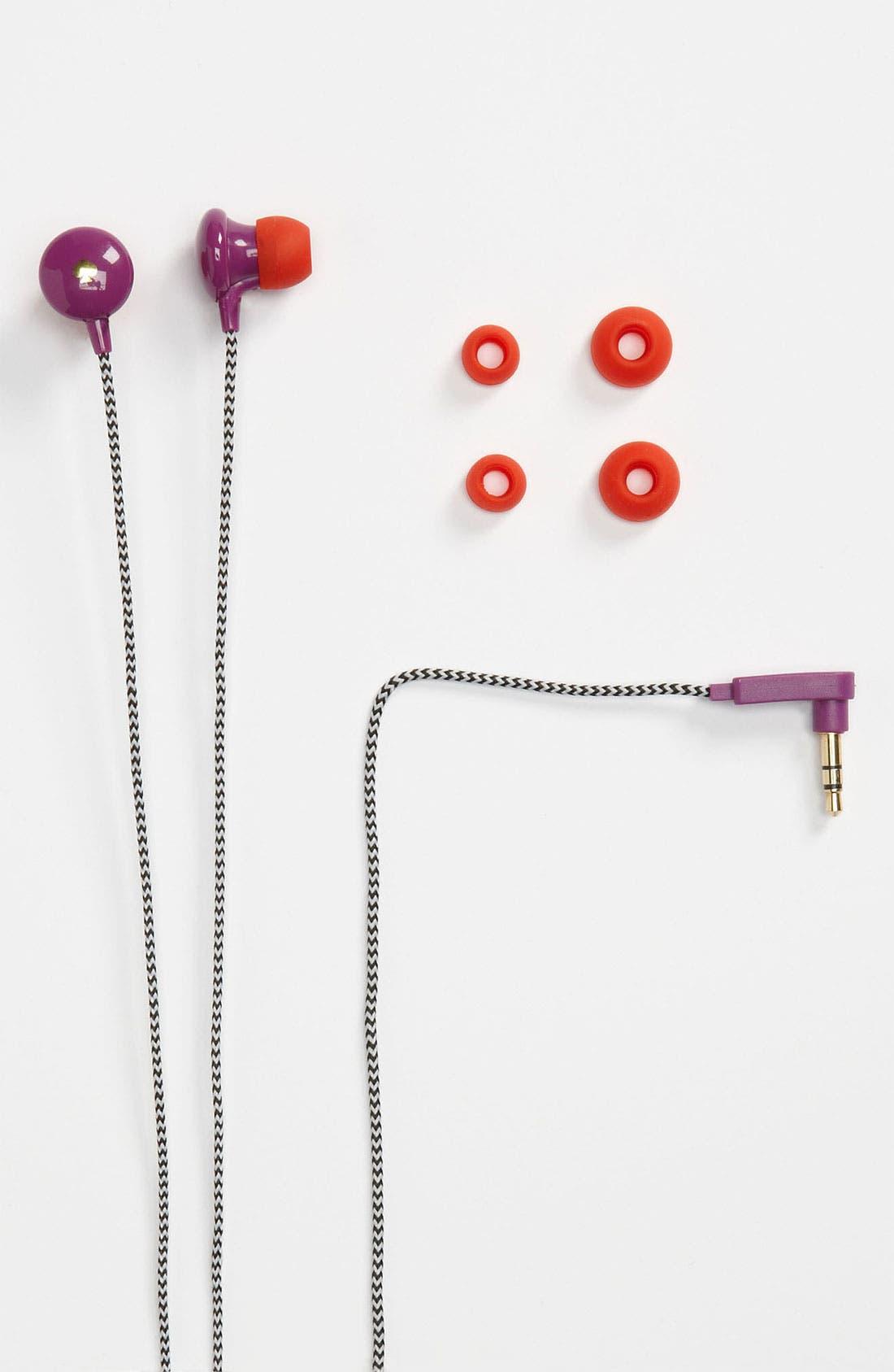 Alternate Image 1 Selected - kate spade new york 'signature spade' Earbuds