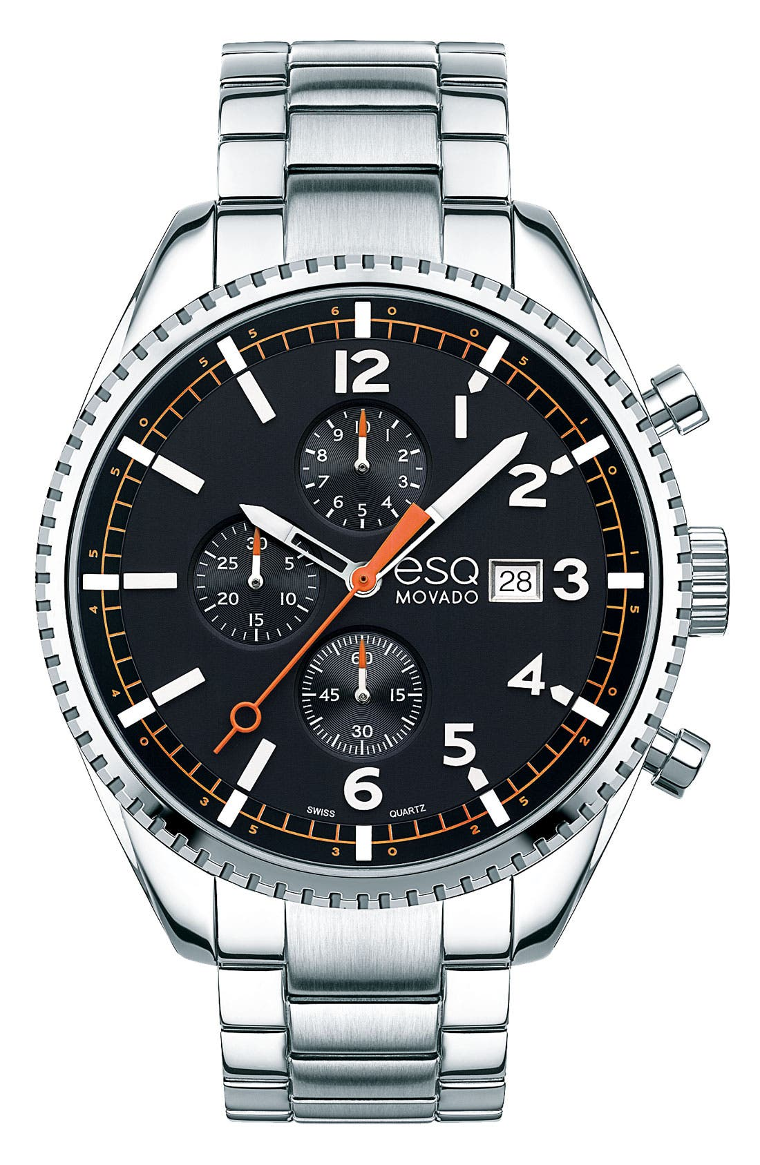 Main Image - ESQ Movado 'Catalyst' Chronograph Bracelet Watch, 44mm