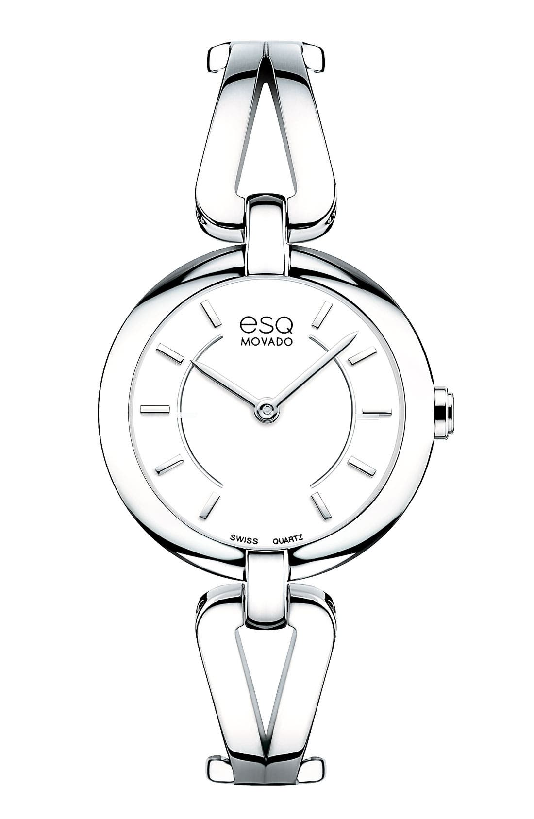Main Image - ESQ Movado 'Corbel' Round Bangle Watch