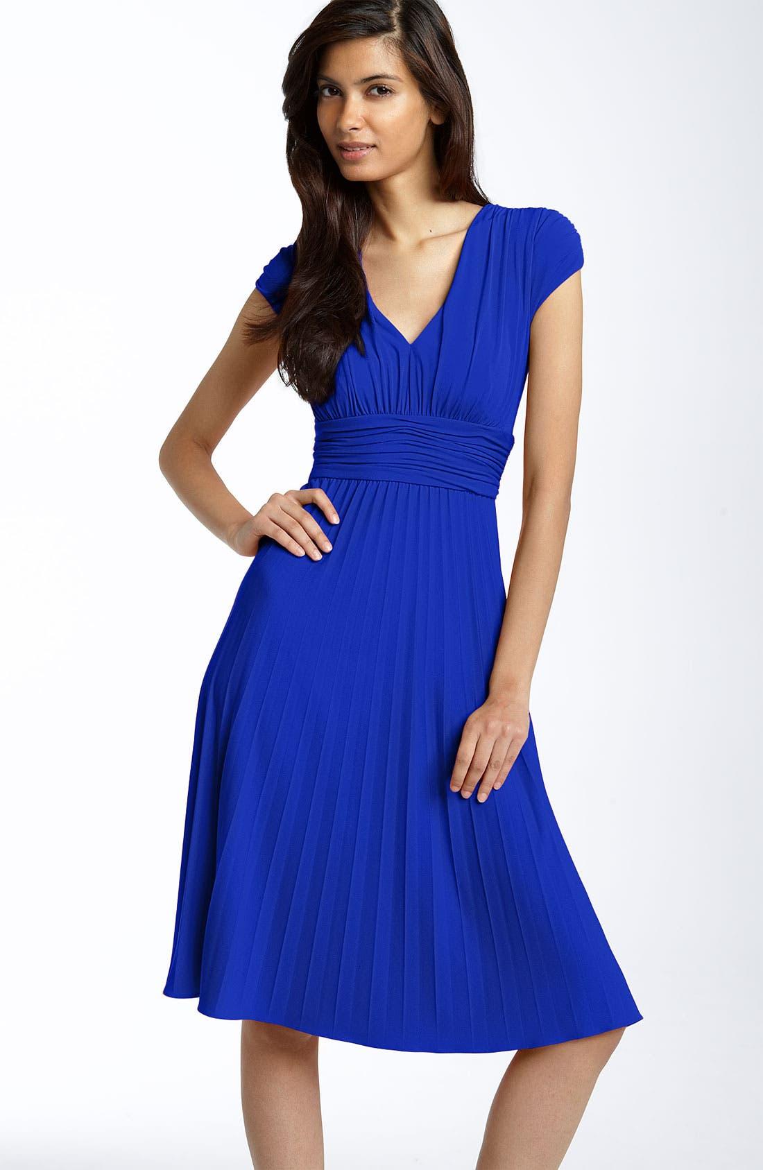 Main Image - Ivy & Blu Ruched Matte Jersey Dress