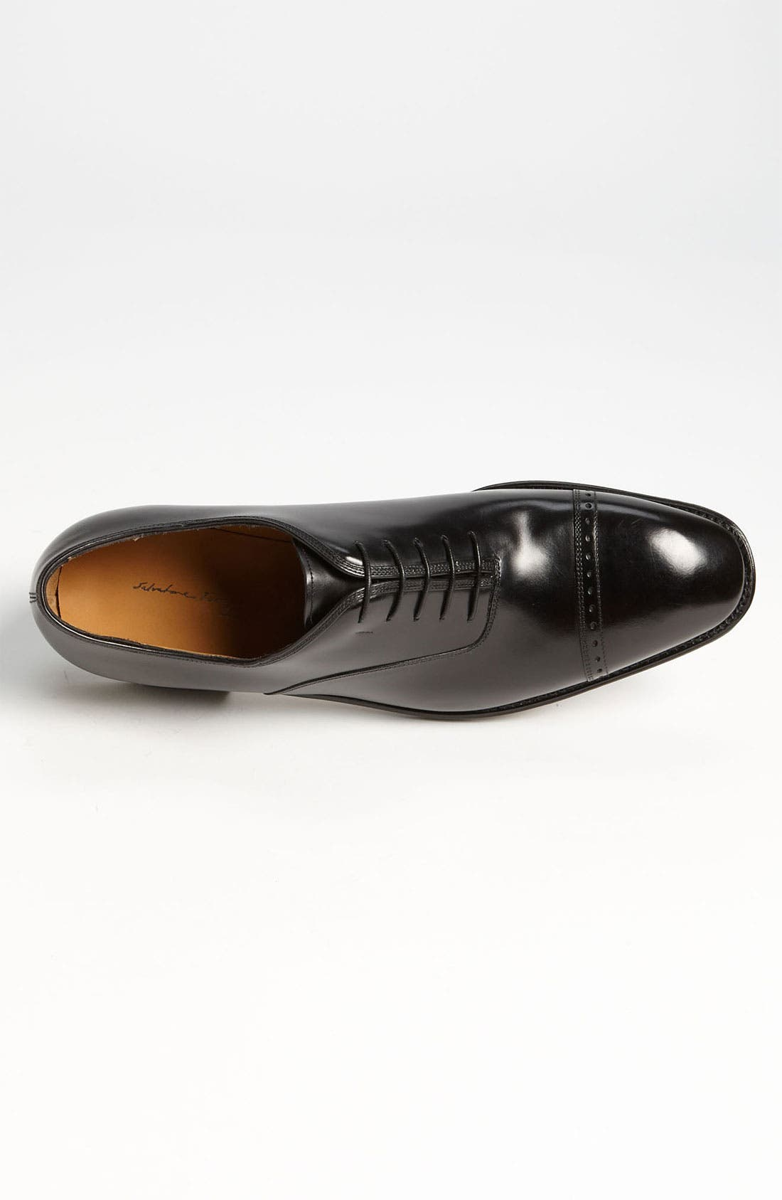 Alternate Image 3  - Salvatore Ferragamo 'Domino' Cap Toe Oxford (Online Only)