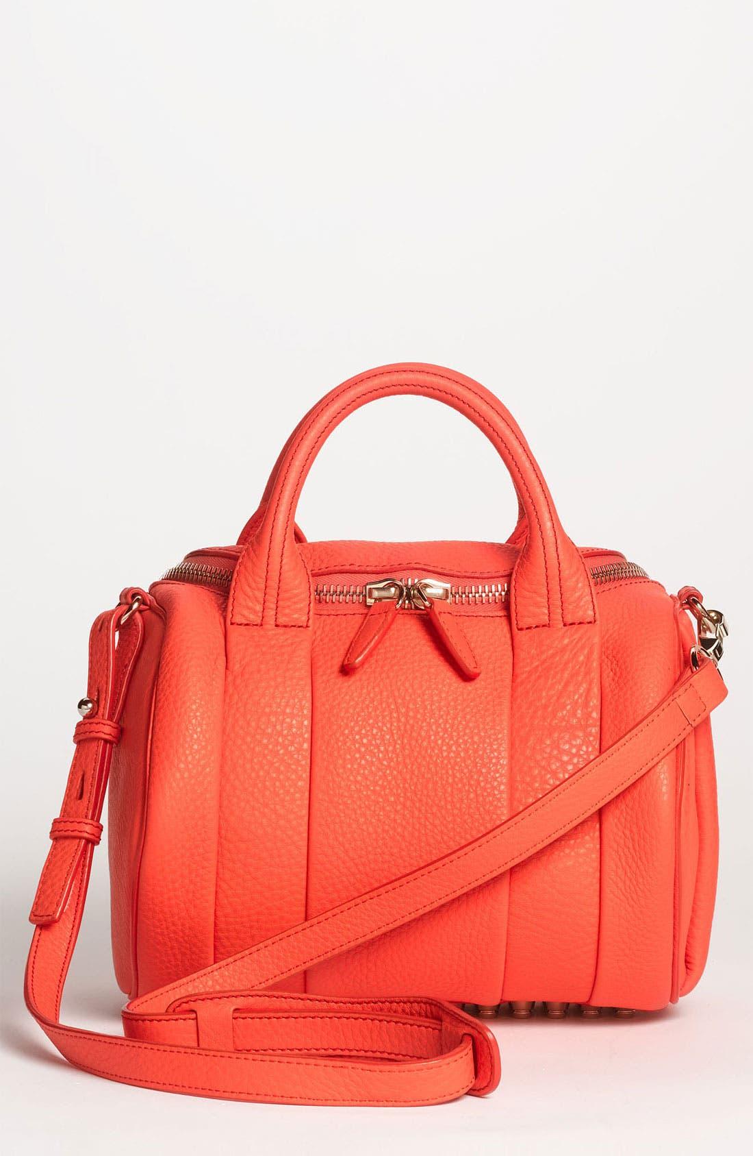 Main Image - Alexander Wang 'Rockie' Leather Satchel