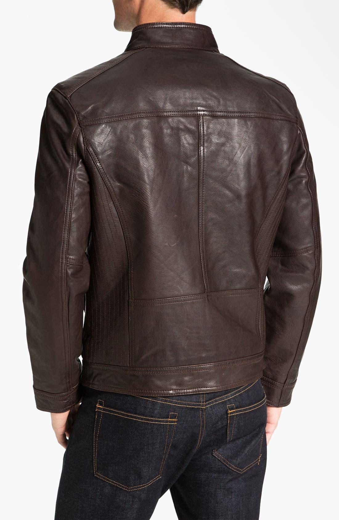 Alternate Image 2  - Marc New York by Andrew Marc 'Cruz' Leather Jacket