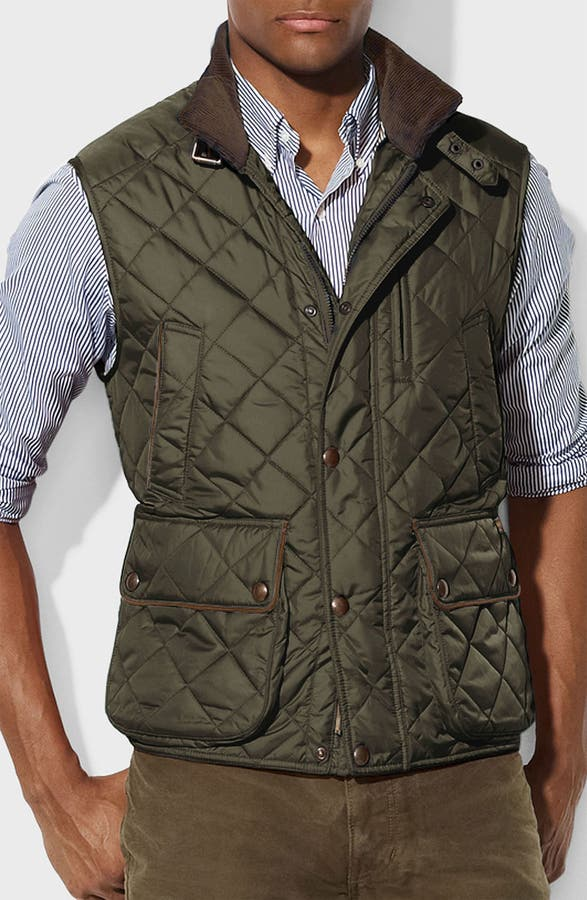 Polo Ralph Lauren Classic Fit Quilted Vest | Nordstrom : polo quilted vest - Adamdwight.com