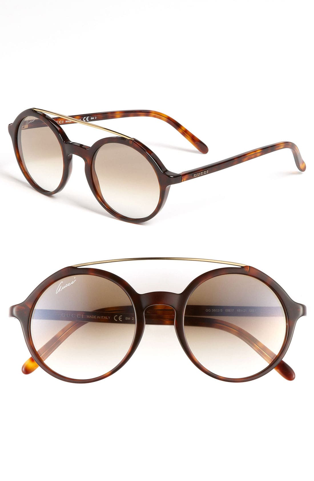 Alternate Image 1 Selected - Gucci Retro Sunglasses