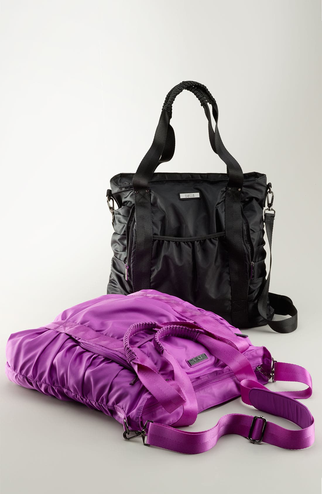 Gathered Tote,                             Alternate thumbnail 7, color,