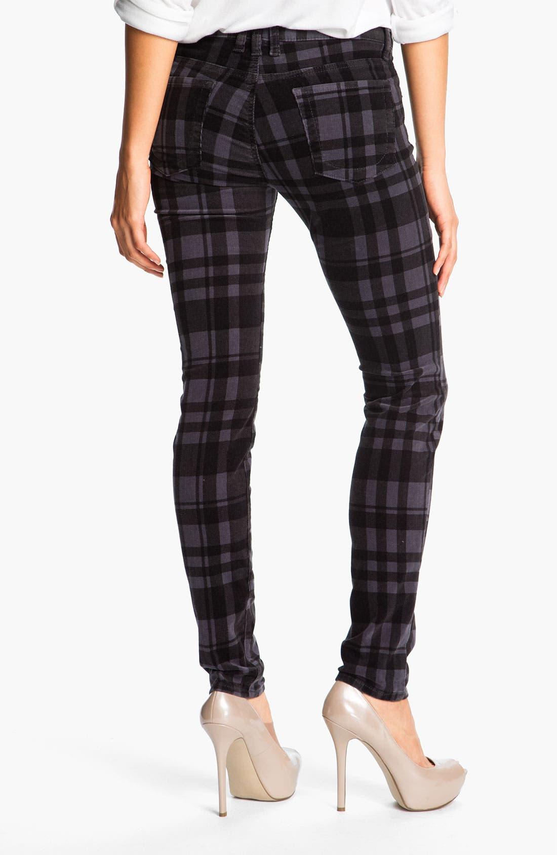 Alternate Image 2  - KUT from the Kloth Plaid Corduroy Pants