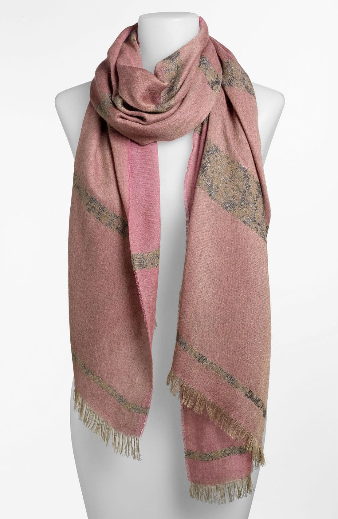 Alternate Image 1 Selected - Nordstrom Jacquard Scarf