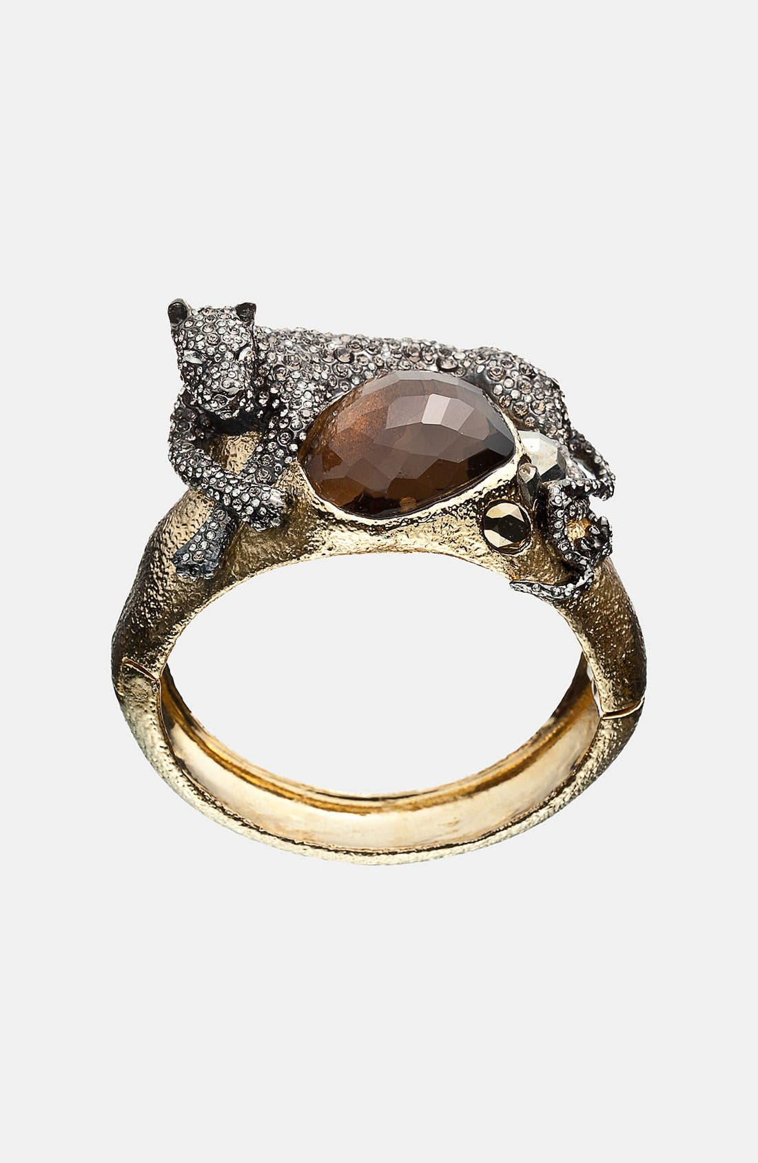 Main Image - Alexis Bittar 'Elements - Siyabona' Large Panther Hinged Bracelet