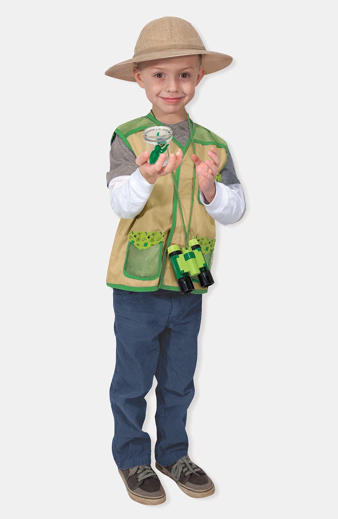 Alternate Image 3  - Melissa & Doug 'Backyard Explorer' Costume (Toddler)