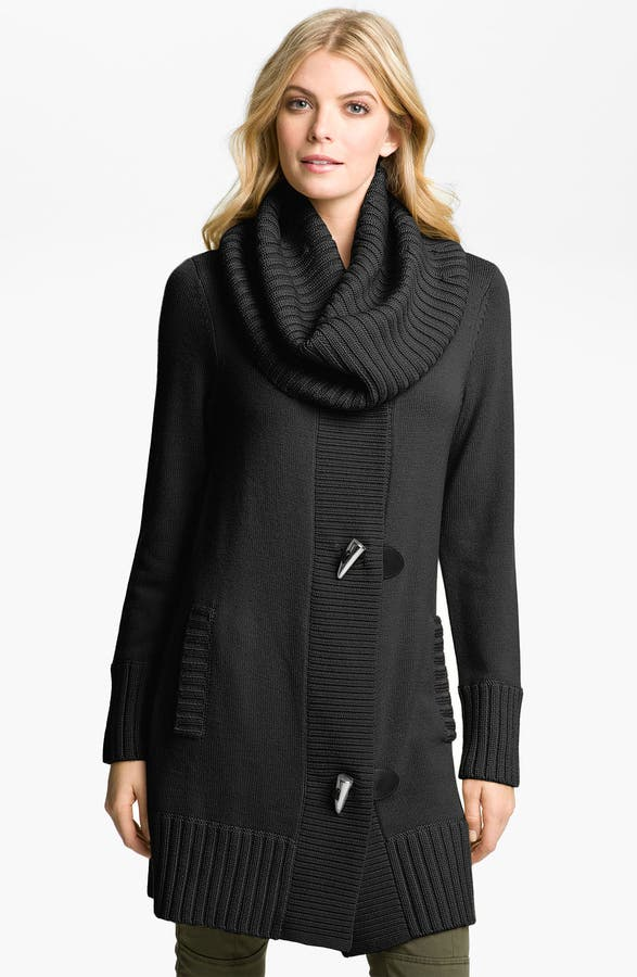 MICHAEL Michael Kors Toggle Sweater Coat | Nordstrom