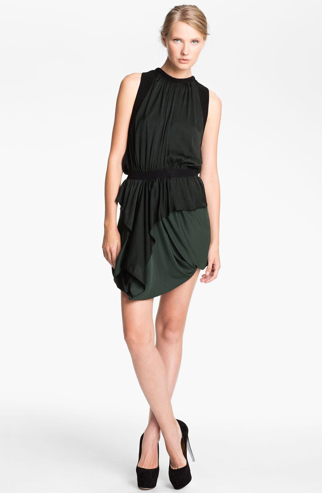 Main Image - A.L.C. 'Safford' Ruched Jersey Dress