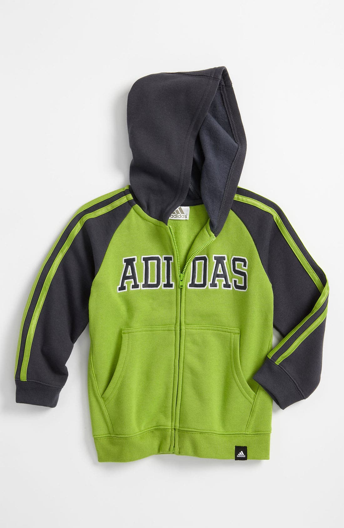 Alternate Image 1 Selected - adidas 'Warm Up' Jacket (Toddler)