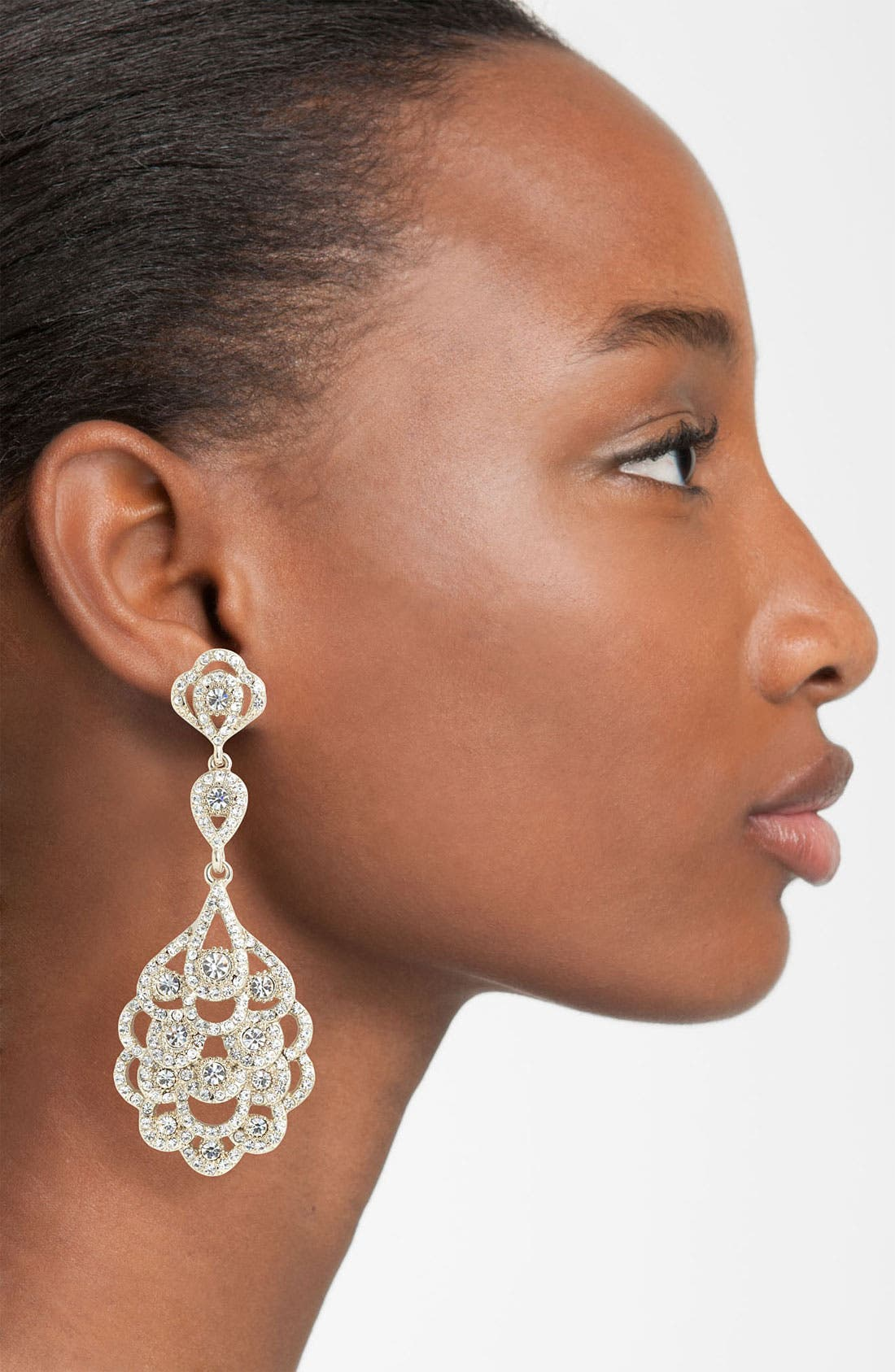 Alternate Image 2  - Nina 'Eiffel' Statement Drop Earrings