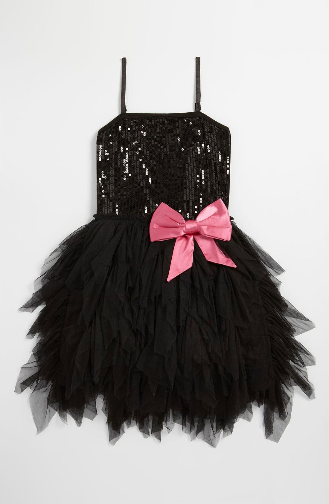 Alternate Image 1 Selected - Ooh! La, La! Couture 'Wow' Sequin Tutu Dress (Big Girls)