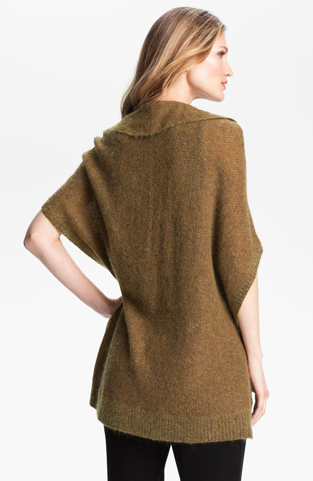 Alternate Image 2  - Eileen Fisher Cowl Neck Web Knit Sweater