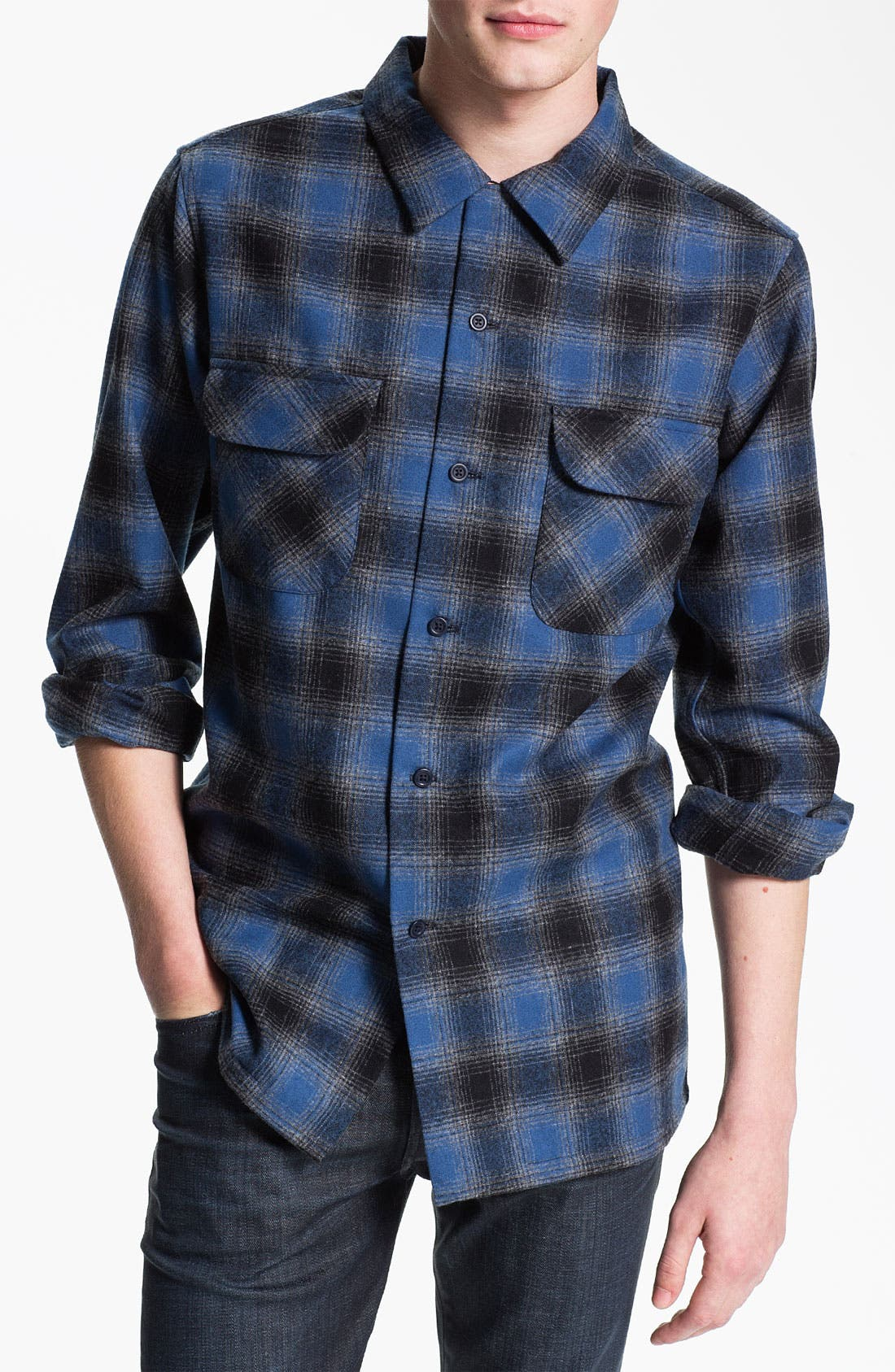 Main Image - Pendleton 'Board' Plaid Flannel Shirt