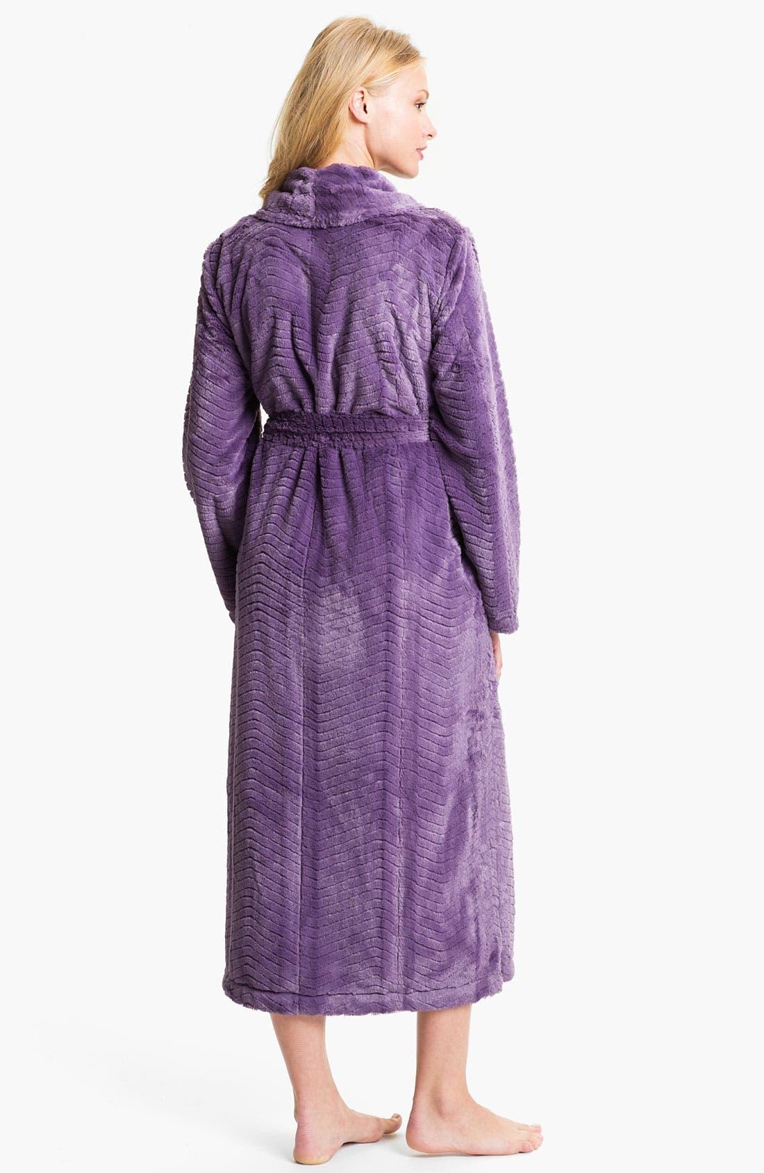 Alternate Image 2  - Nordstrom 'Microcuddle' Plush Robe