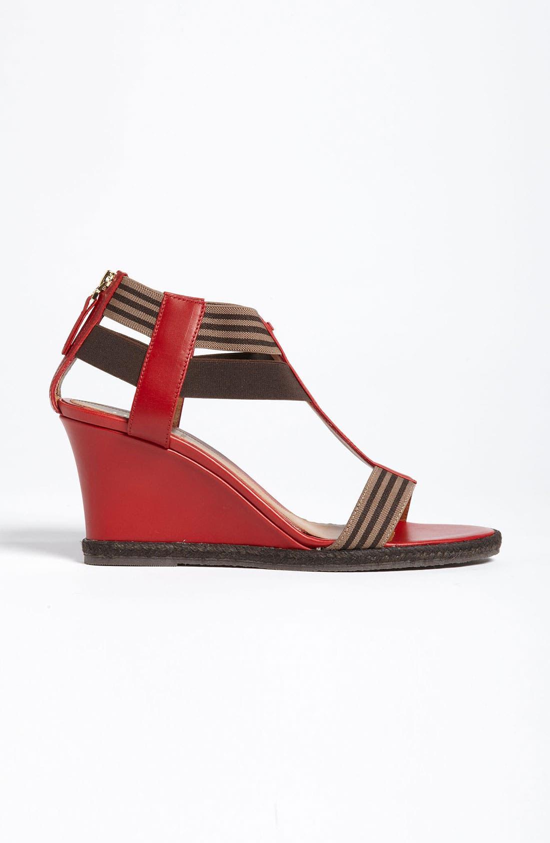 Alternate Image 4  - Fendi 'Carioca' Wedge Sandal