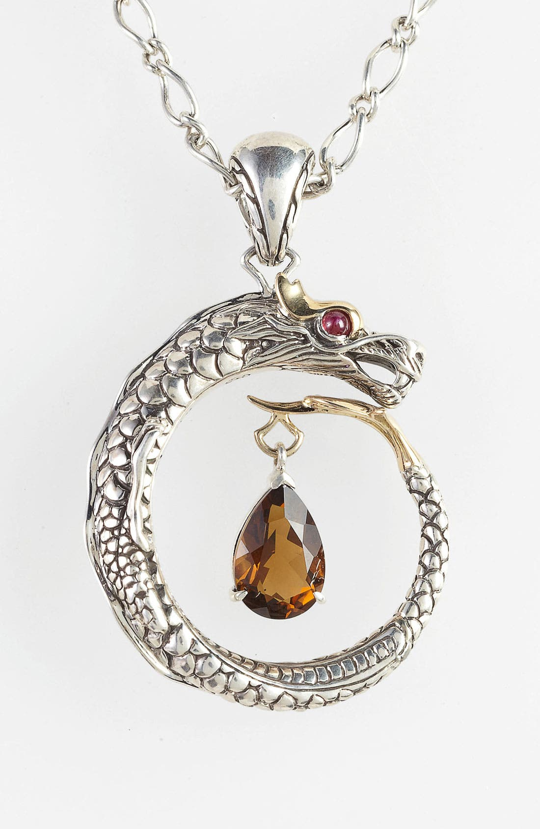 Alternate Image 2  - John Hardy 'Naga' Dragon Pendant Necklace