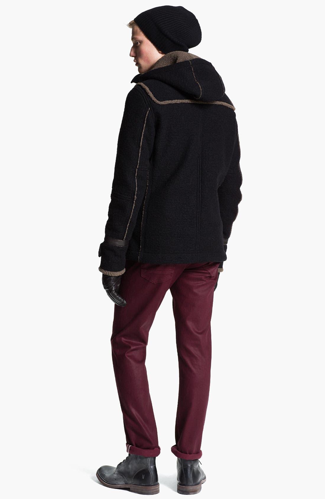 Alternate Image 3  - BOSS Black 'Nattea' Wool Knit Cap