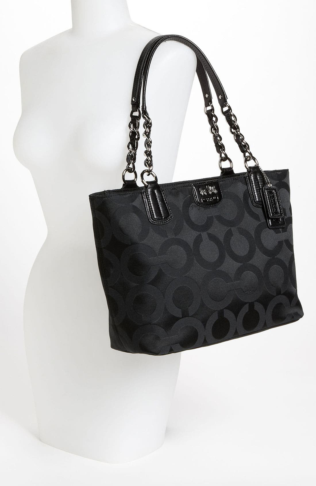 Alternate Image 2  - COACH 'Op Art' Sateen Tote