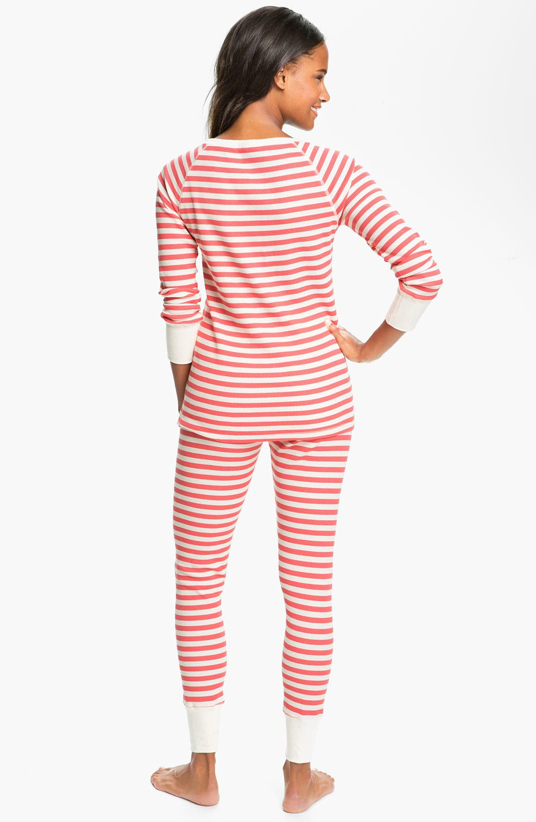 Alternate Image 2  - Hue 'Huetopia' Thermal Pajamas