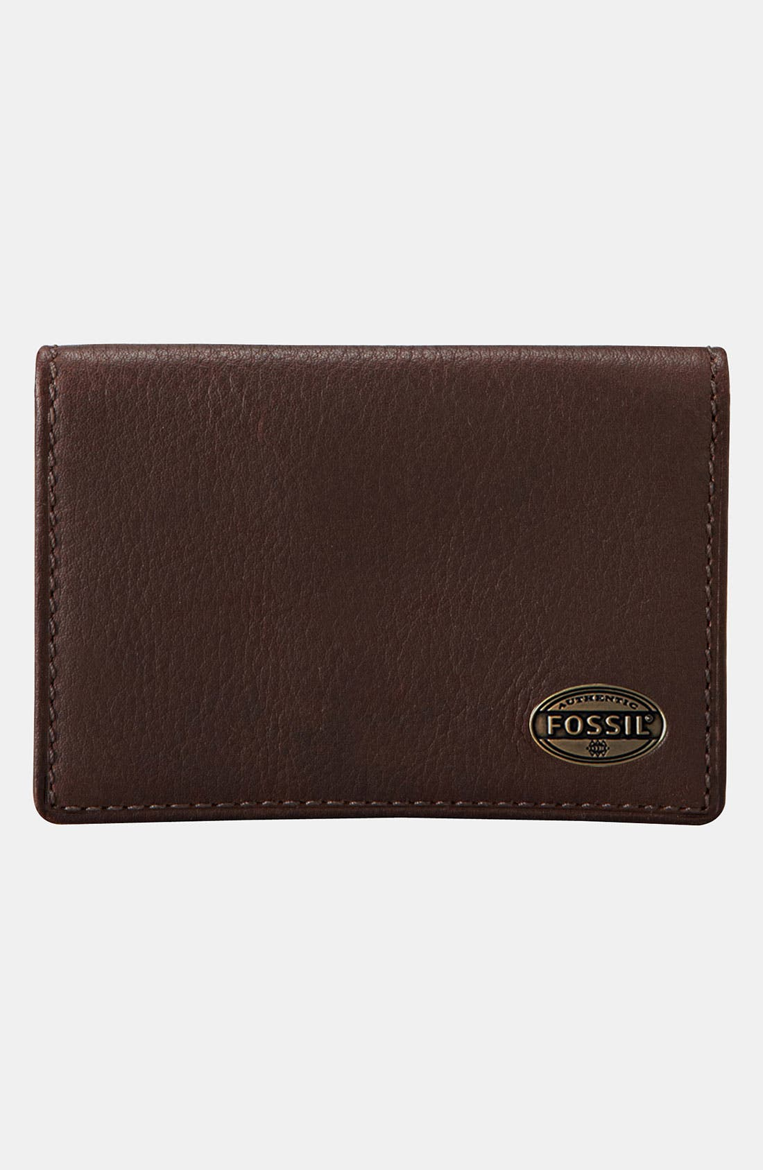 Alternate Image 1 Selected - Fossil 'Estate' Leather Card Case