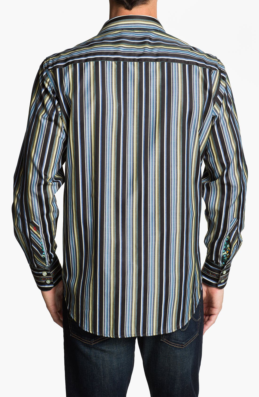 Alternate Image 3  - Robert Graham 'Gamboge' Sport Shirt