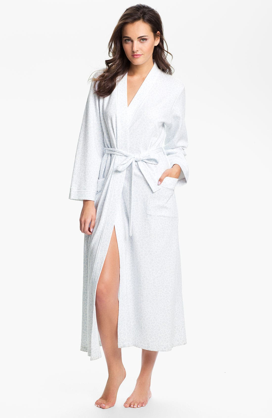 Main Image - Carole Hochman 'Diamond' Knit Robe