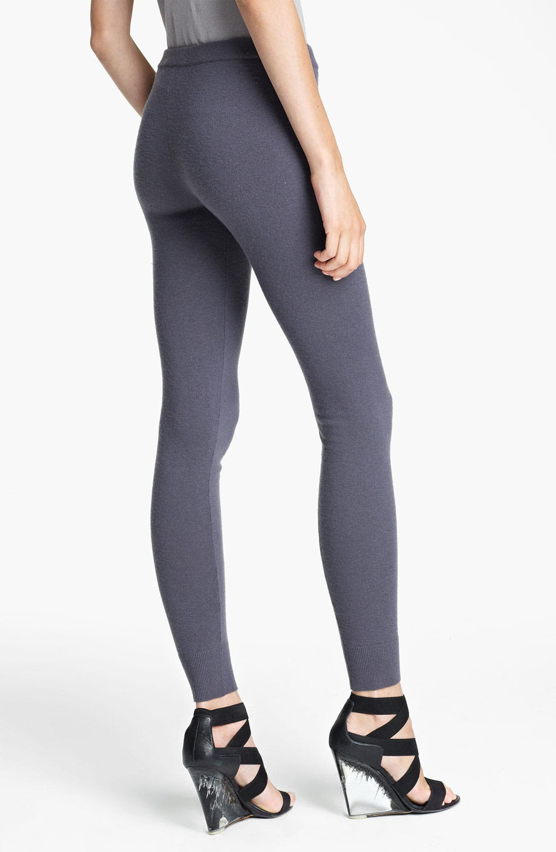 Alternate Image 2  - Donna Karan Collection 'First Layer' Cashmere Blend Leggings