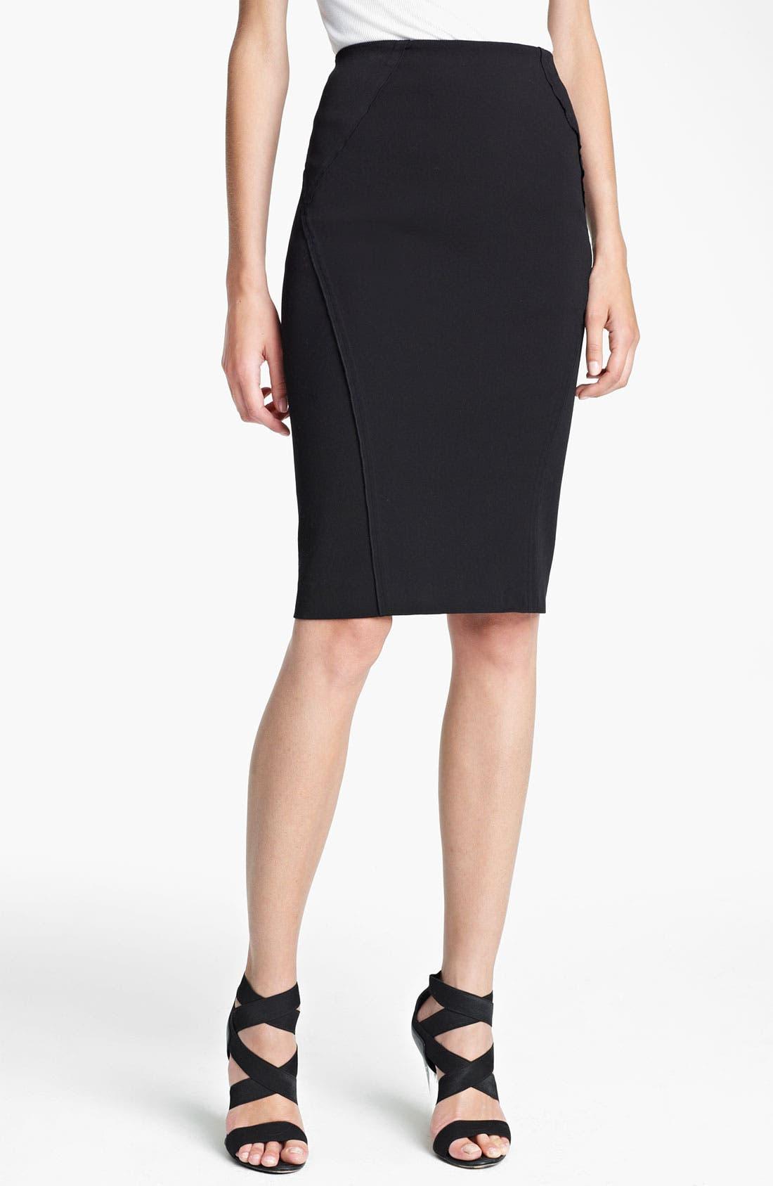 Main Image - Donna Karan Collection Seamed Pencil Skirt