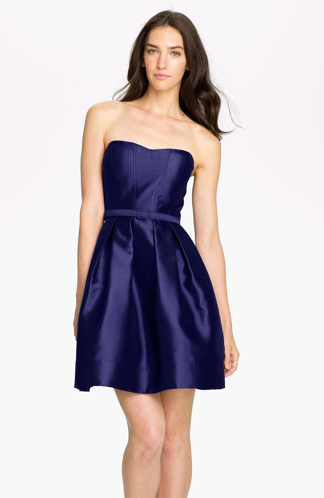 Alternate Image 1 Selected - Eliza J Sweetheart Neckline Fit & Flare Dress