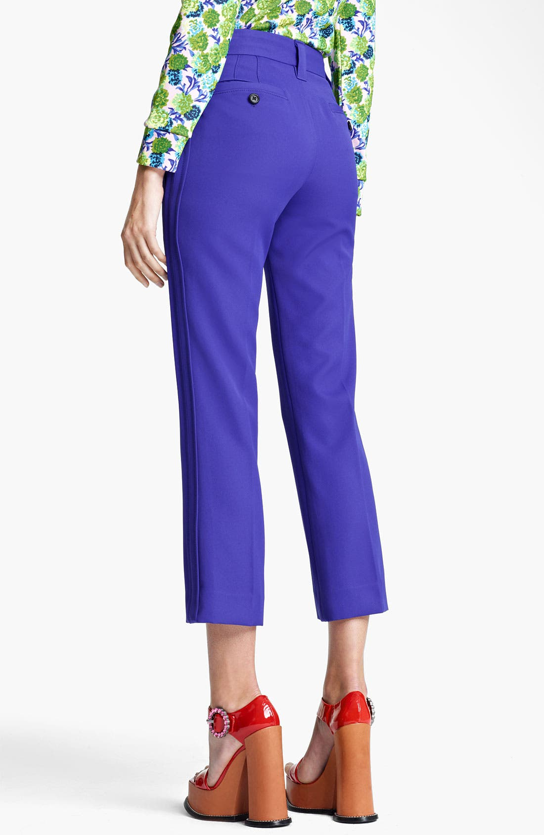 Alternate Image 2  - MARC JACOBS Technical Twill Crop Pants