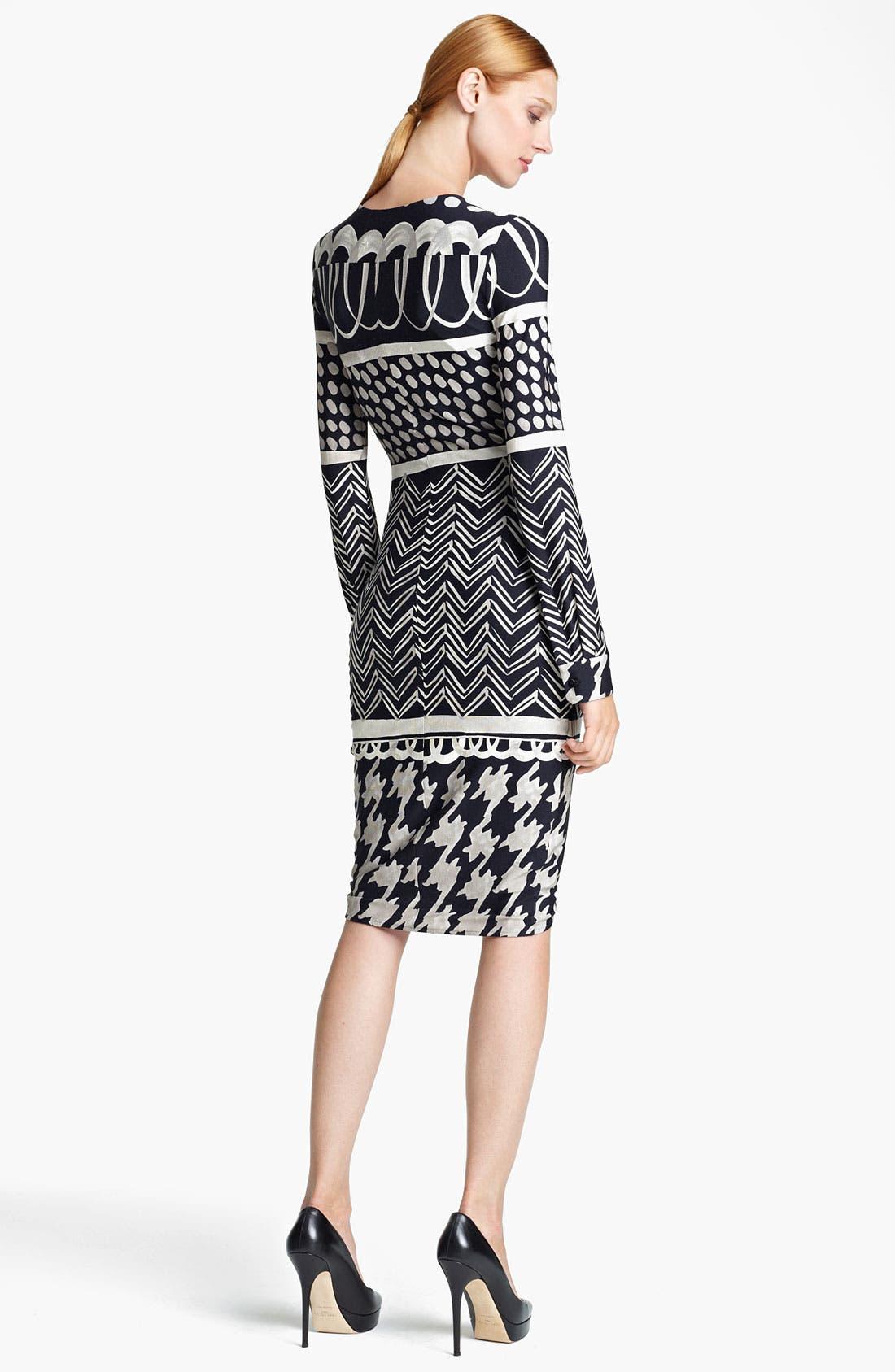 Alternate Image 2  - Max Mara 'Eneide' Print Jersey Dress