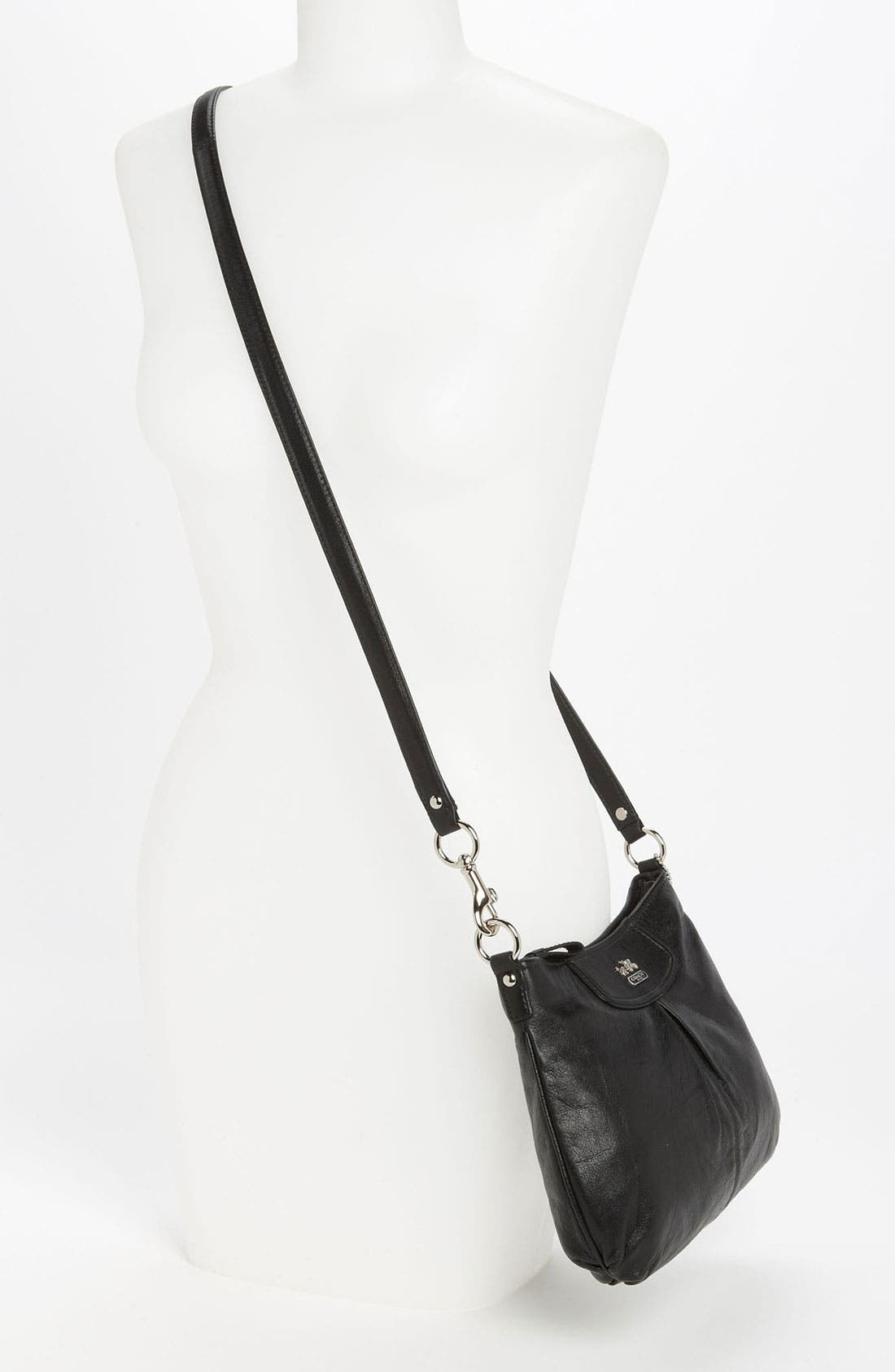 Alternate Image 2  - COACH 'Madison - Swingpack' Leather Crossbody Bag