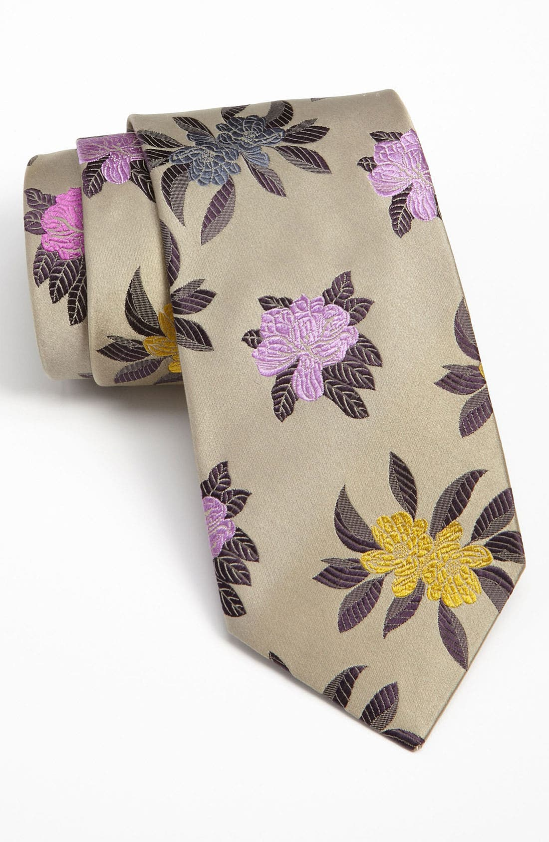 Alternate Image 1 Selected - Duchamp Woven Silk Tie